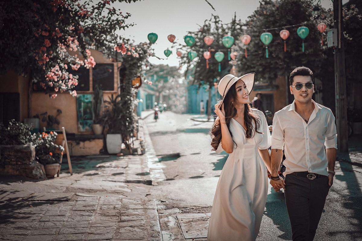 Ưng Hoàng Phúc khoá môi bà xã Kim Cương ngọt ngào trong bộ ảnh cưới, đã ấn định ngày cử hành hôn lễ - Ảnh 7.