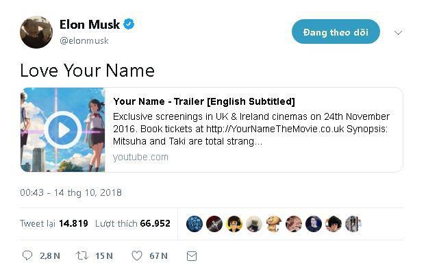 Tỷ phú Elon Musk cũng thích phim anime và muốn tạo ra một con robot chiến đấu khổng lồ kiểu Gundam - Ảnh 1.