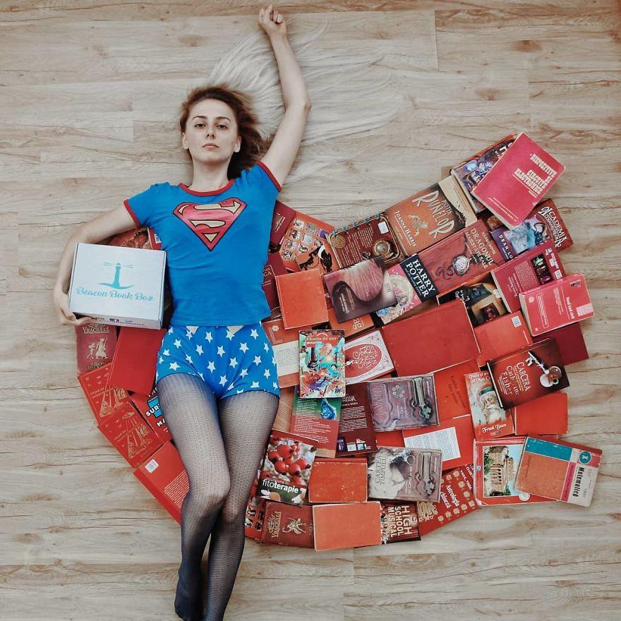 Instagrammer xinh đẹp chỉ thích tạo dáng với sách vở, nói không với bikini và hàng hiệu - Ảnh 6.