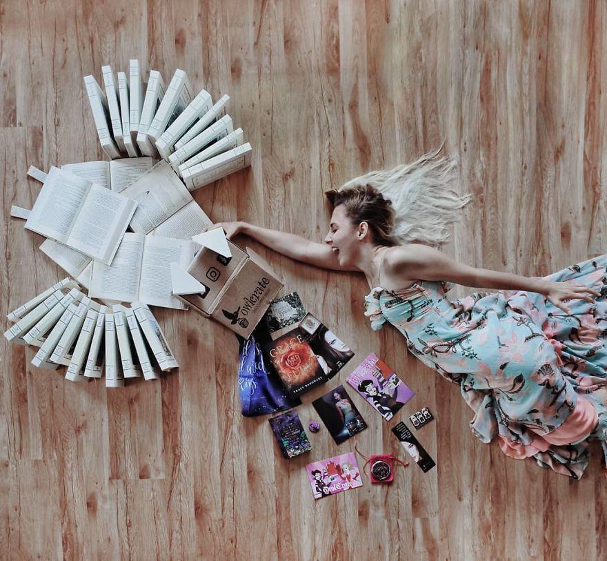 Instagrammer xinh đẹp chỉ thích tạo dáng với sách vở, nói không với bikini và hàng hiệu - Ảnh 13.