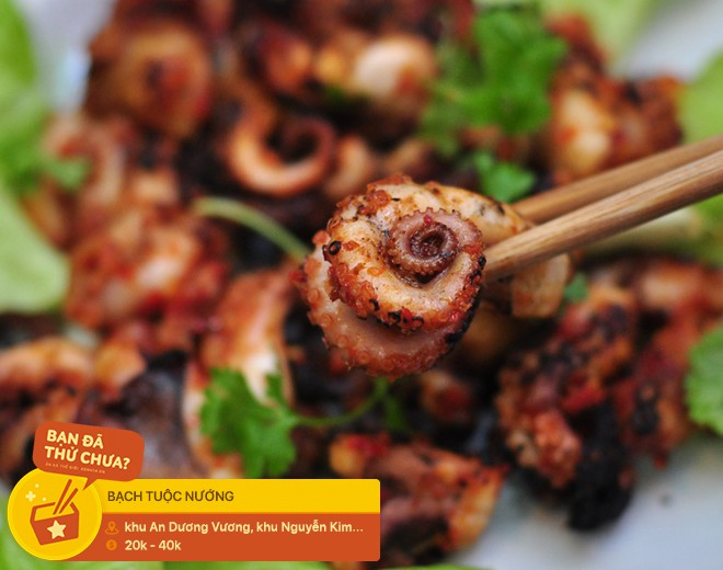 Không sai khi nói người Sài Gòn rất thích ăn bạch tuộc, cứ xem những phiên bản hấp dẫn từ nguyên liệu này sẽ rõ - Ảnh 11.