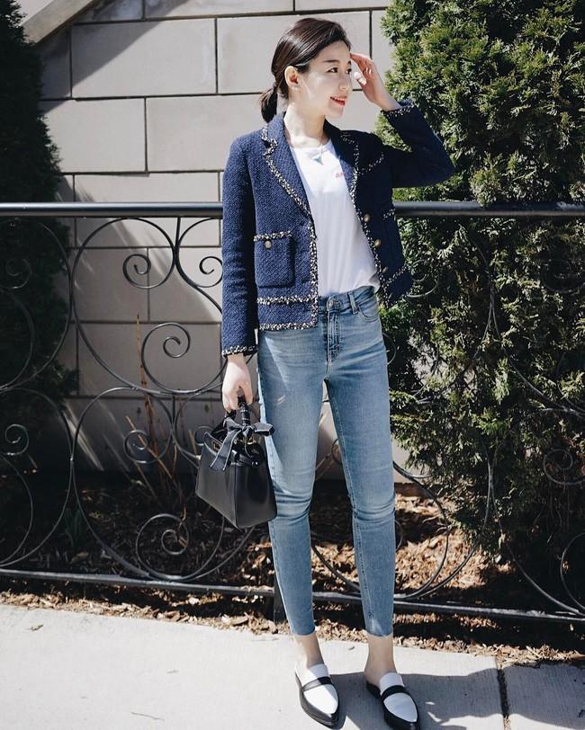 """""""Ngôi sao"""" của mùa đông chính là quần jeans và 15 set đồ sau sẽ giúp các nàng biến hóa tài tình với item này - Ảnh 3."""
