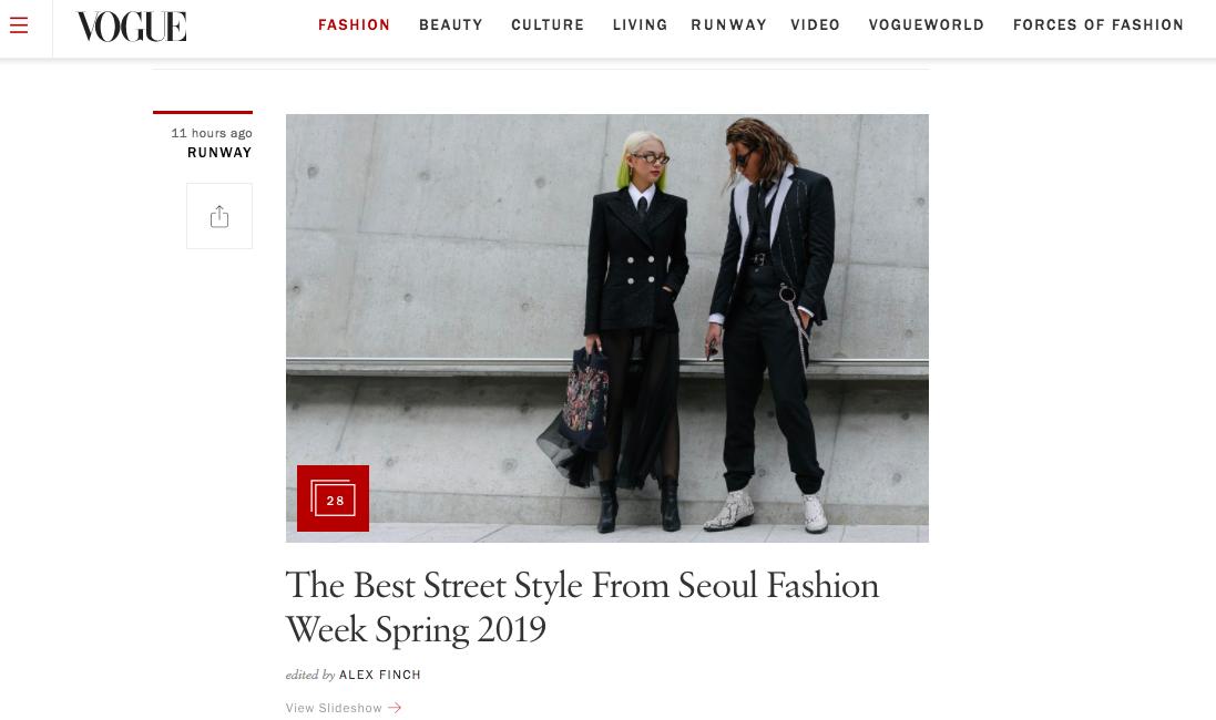 Mới ngày đầu ra quân tại SFW mà bộ đôi Phí Phương Anh cùng stylist đã lên ngay trang chủ của Vogue - Ảnh 2.