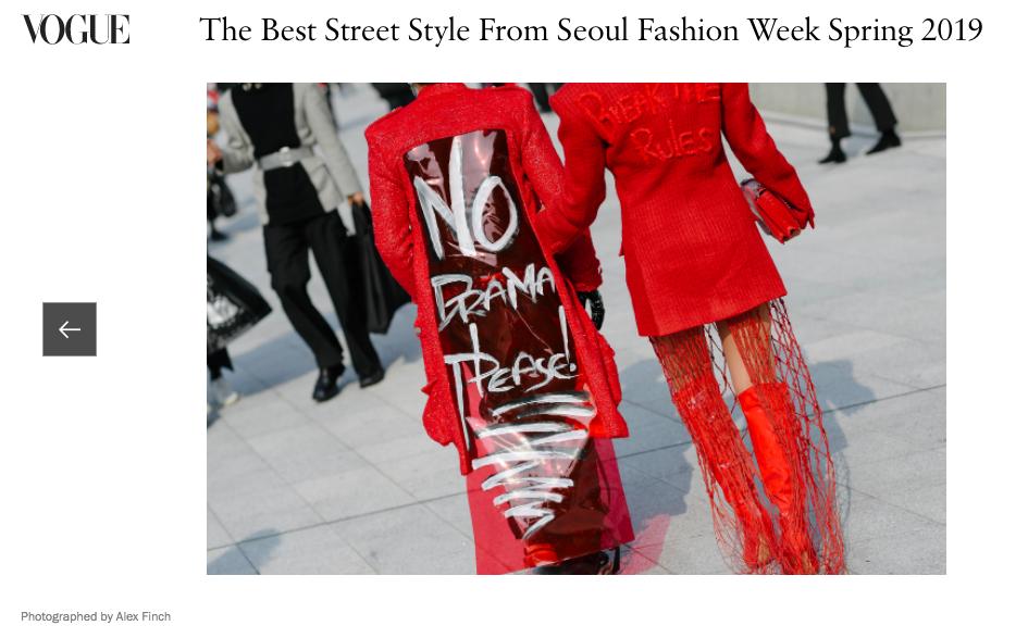 Mới ngày đầu ra quân tại SFW mà bộ đôi Phí Phương Anh cùng stylist đã lên ngay trang chủ của Vogue - Ảnh 5.
