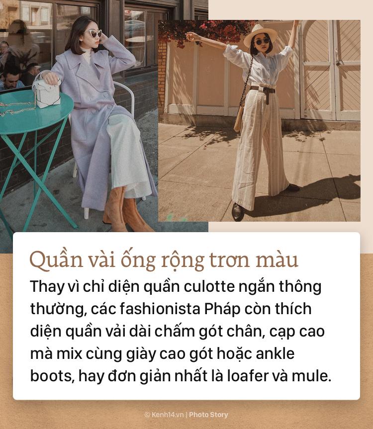 6 item thời trang Thu Đông giúp bạn ăn mặc đỉnh cao như fashionista Pháp - Ảnh 9.