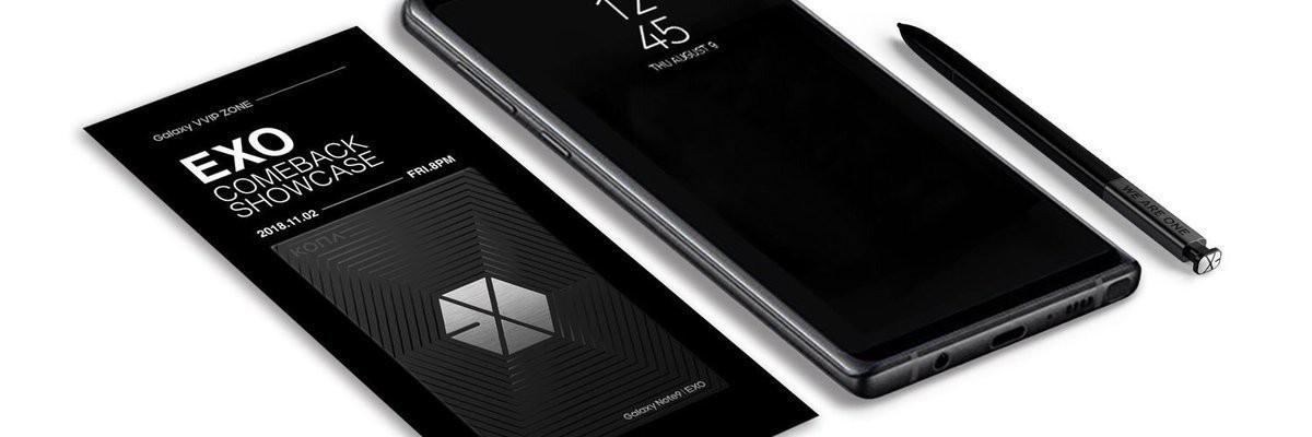 Rò rỉ ảnh Galaxy Note 9 phiên bản EXO đặc biệt kèm vé mời concert comeback khiến fan thót tim - Ảnh 2.