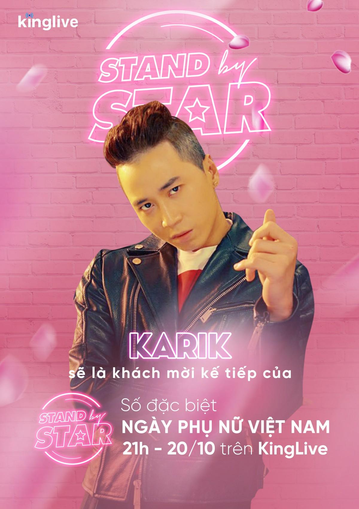Dàn sao khủng Vbiz đổ bộ Stand By Star, hứa hẹn bùng nổ cảm xúc cùng ngày Phụ nữ Việt Nam 20/10 - Ảnh 8.