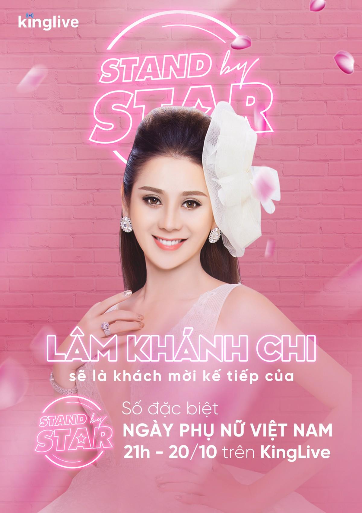 Dàn sao khủng Vbiz đổ bộ Stand By Star, hứa hẹn bùng nổ cảm xúc cùng ngày Phụ nữ Việt Nam 20/10 - Ảnh 4.