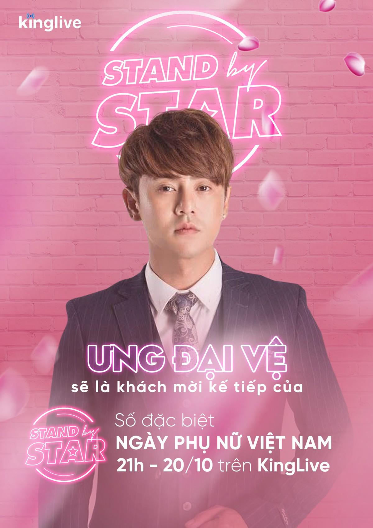 Dàn sao khủng Vbiz đổ bộ Stand By Star, hứa hẹn bùng nổ cảm xúc cùng ngày Phụ nữ Việt Nam 20/10 - Ảnh 6.