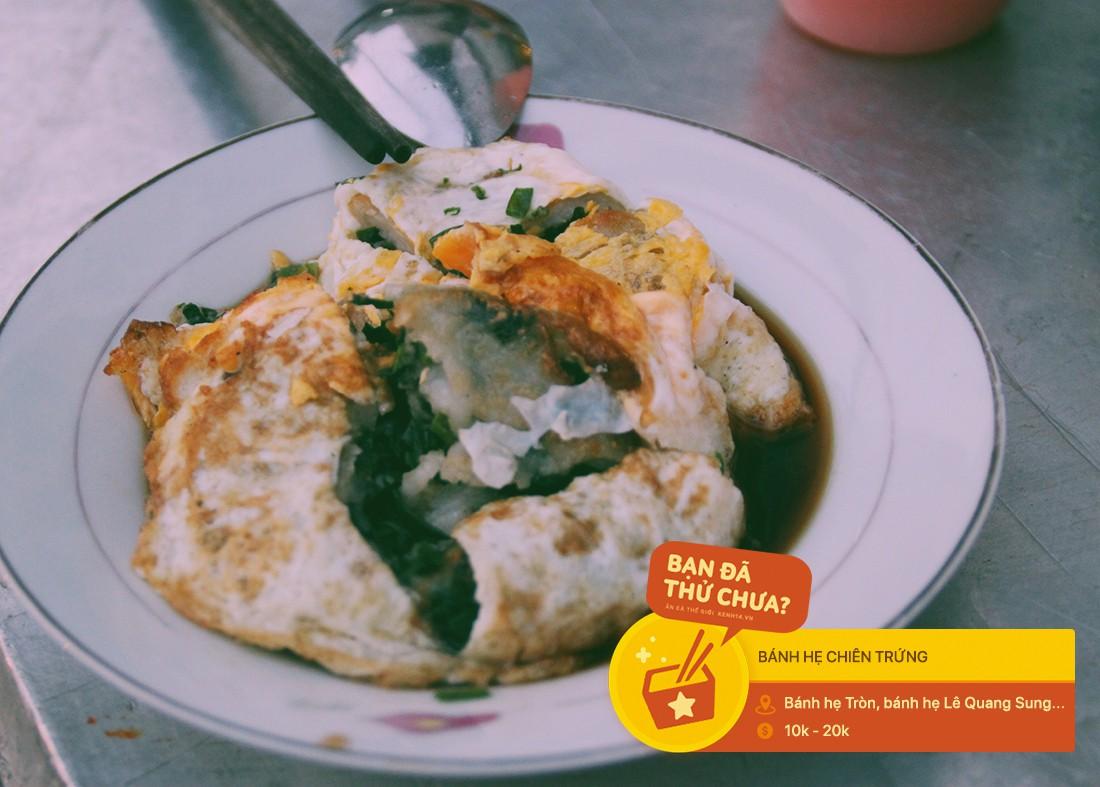 Sài Gòn có những món chẳng thể làm nên chuyện nếu thiếu đi trứng chiên cùng - Ảnh 2.