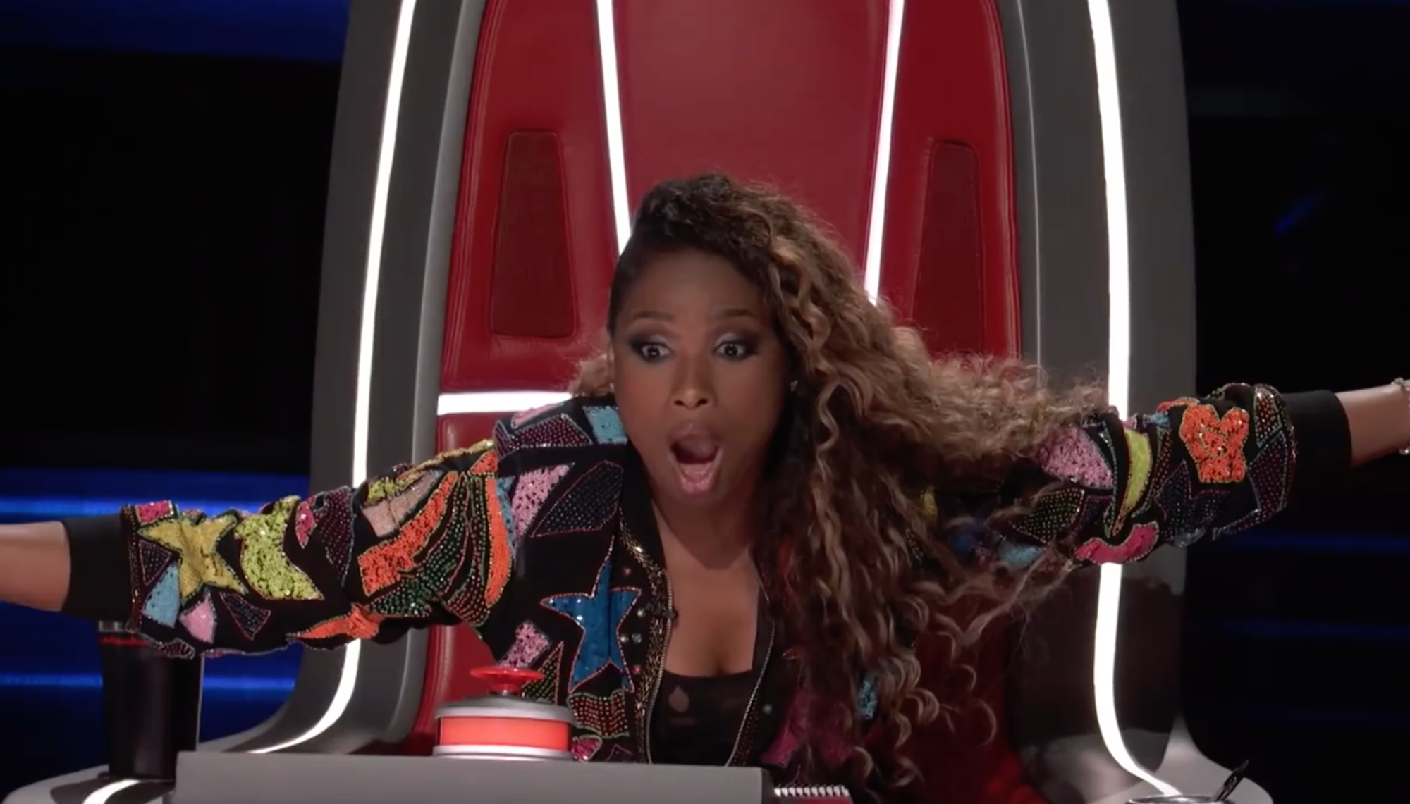 The Voice US: Vẻ mặt sốc đến khó tin của Jennifer Hudson khi lần thứ 2 bị chặn trong vòng Giấu mặt! - Ảnh 4.