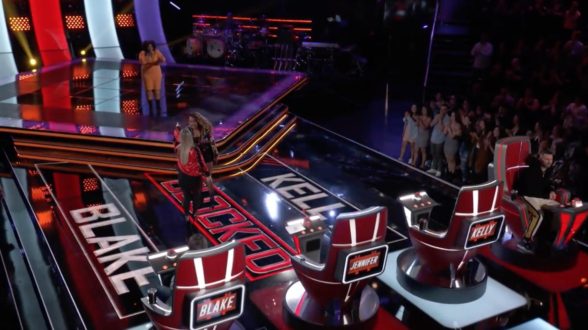 The Voice US: Vẻ mặt sốc đến khó tin của Jennifer Hudson khi lần thứ 2 bị chặn trong vòng Giấu mặt! - Ảnh 5.