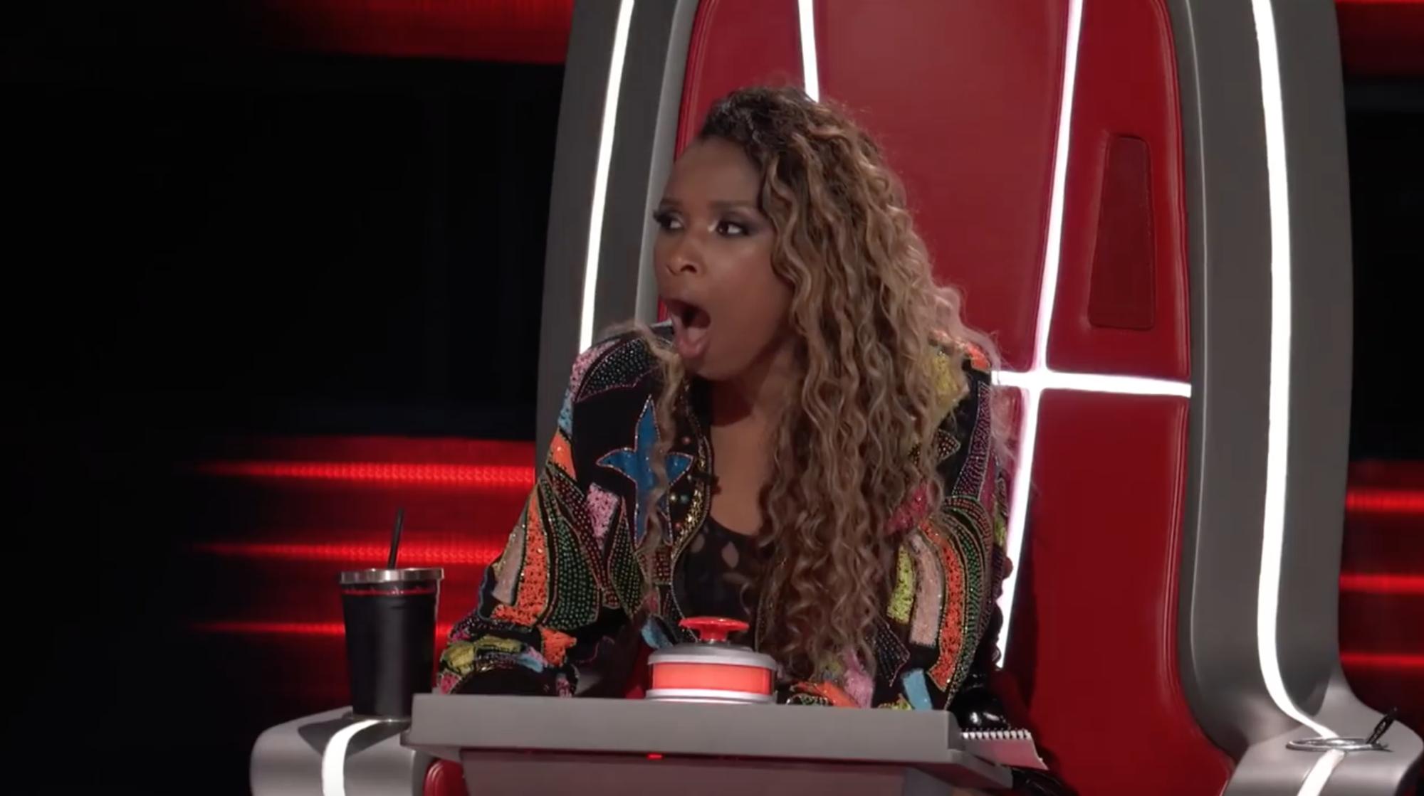 The Voice US: Vẻ mặt sốc đến khó tin của Jennifer Hudson khi lần thứ 2 bị chặn trong vòng Giấu mặt! - Ảnh 6.