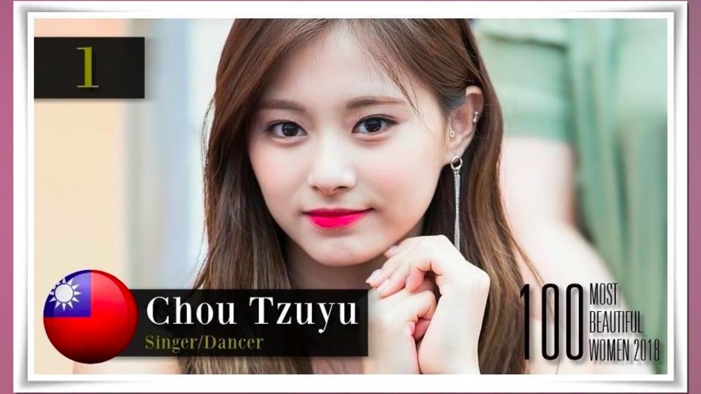 100 mỹ nhân đẹp nhất thế giới 2018: Tzuyu bất ngờ giành hạng 1,