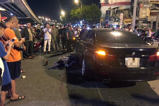 Ảnh: Hiện trường vụ nữ tài xế điều khiển xe BMW gây tai nạn kinh hoàng ở ngã tư Hàng Xanh - Ảnh 10.