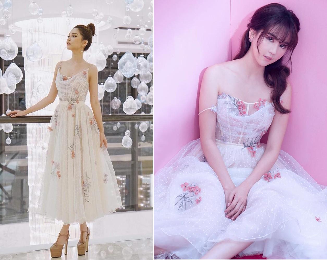 Hậu giảm cân, Bích Phương thua nhiều điểm trước Ngọc Trinh khi đụng váy công chúa - Ảnh 8.