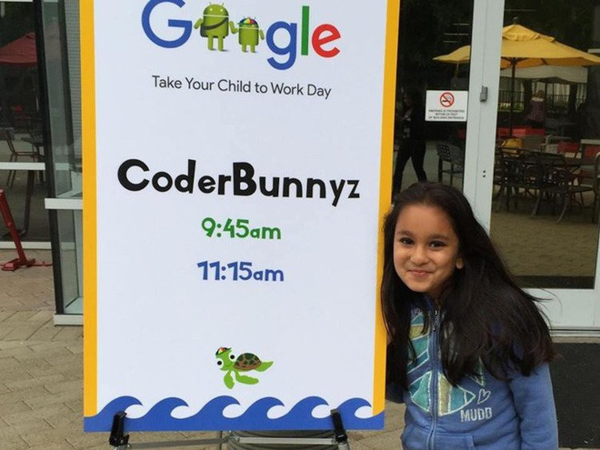 Nữ coder... 10 tuổi này thành công quá, cả Google lẫn Microsoft đều muốn mời về làm việc - Ảnh 1.