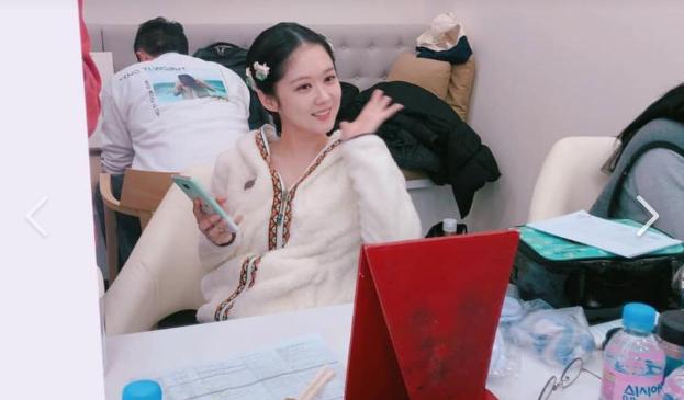 Jang Na Ra trẻ đáng kinh ngạc dù đã bước sang tuổi 38 - Ảnh 1.