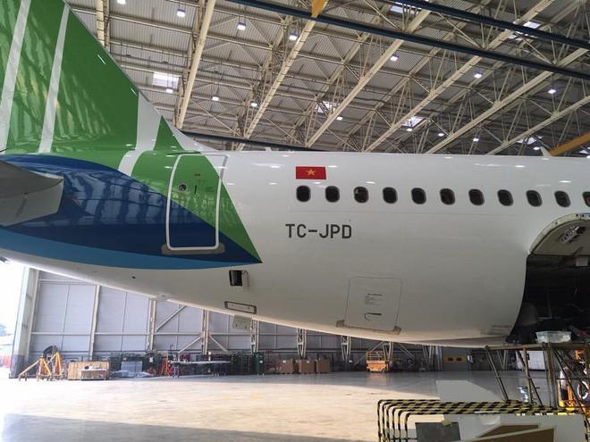 Lộ diện hình ảnh máy bay của Bamboo Airways - Ảnh 5.