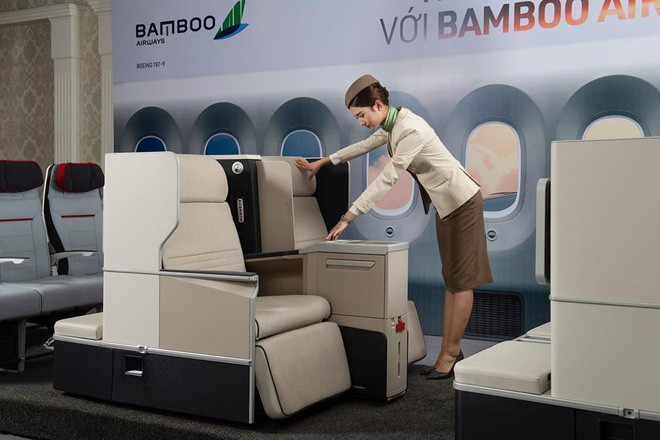 Lộ diện hình ảnh máy bay của Bamboo Airways - Ảnh 6.
