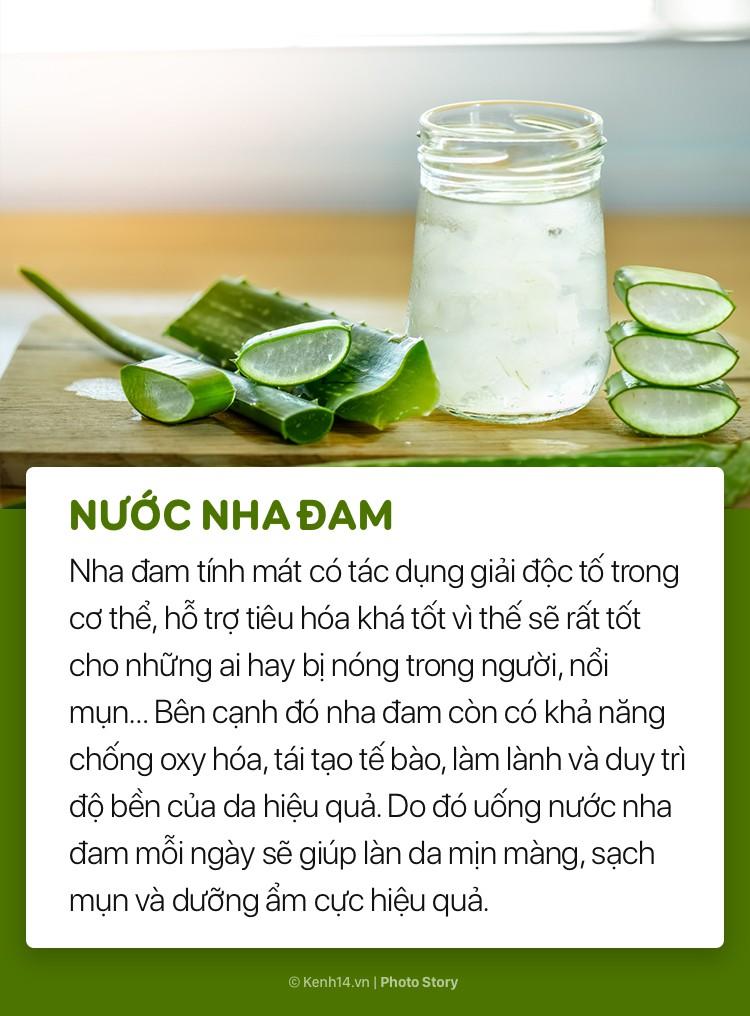 Ngoài sử dụng mỹ phẩm, đừng bỏ qua những loại đồ uống này để giúp làn da sáng và mượt mà hơn - Ảnh 7.