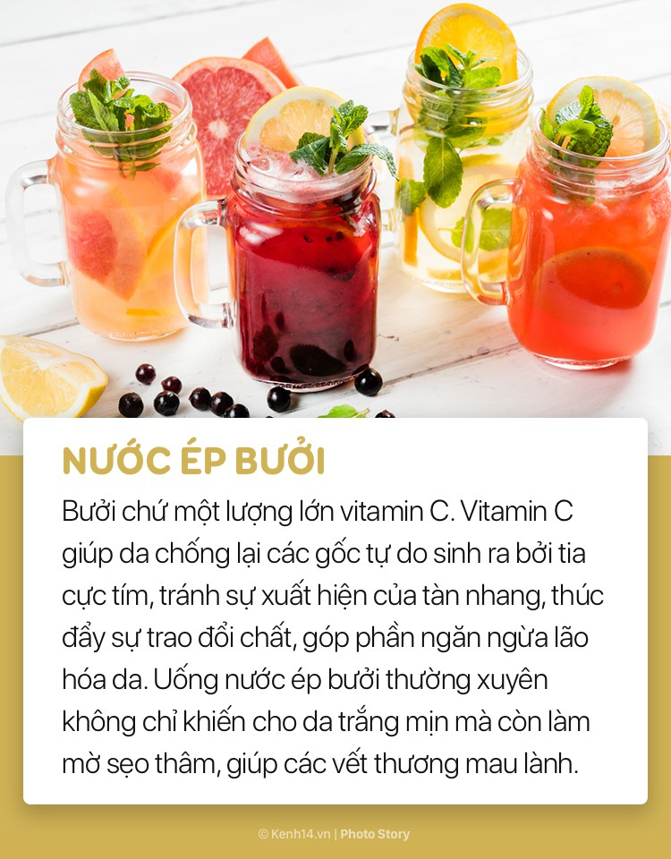 Ngoài sử dụng mỹ phẩm, đừng bỏ qua những loại đồ uống này để giúp làn da sáng và mượt mà hơn - Ảnh 11.