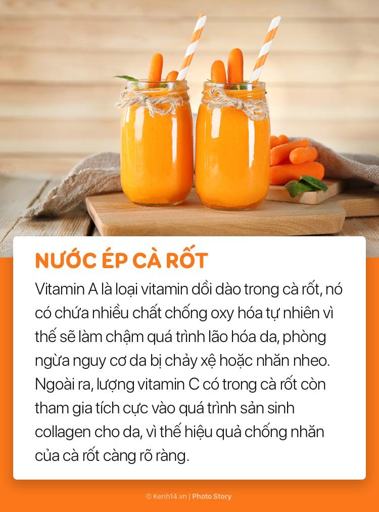 Ngoài sử dụng mỹ phẩm, đừng bỏ qua những loại đồ uống này để giúp làn da sáng và mượt mà hơn - Ảnh 13.