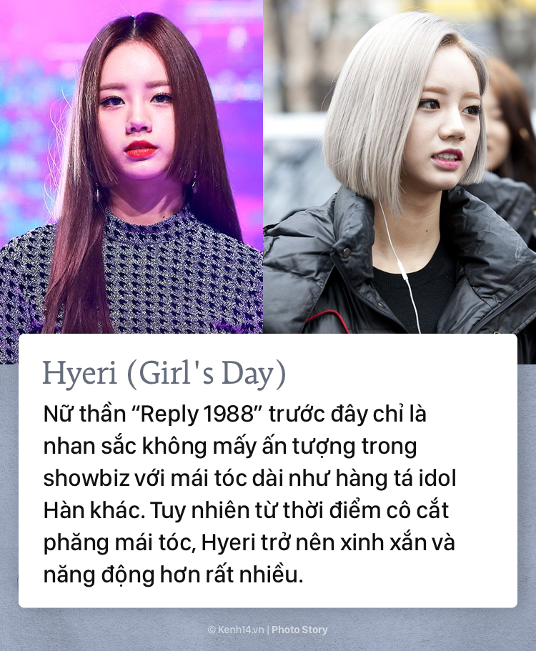 Những sao Hàn Quốc lên đời nhan sắc vì... cắt tóc ngắn - Ảnh 7.