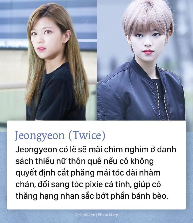 Những sao Hàn Quốc lên đời nhan sắc vì... cắt tóc ngắn - Ảnh 9.
