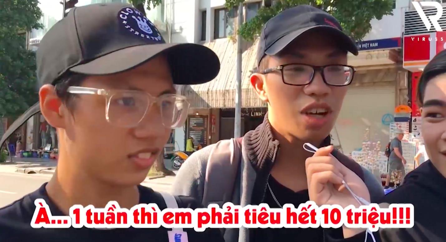Phỏng vấn dạo: 19 tuổi tiết lộ tiêu 10 triệu/tuần để mua giày, quần áo và đi uống trà sữa - Ảnh 8.