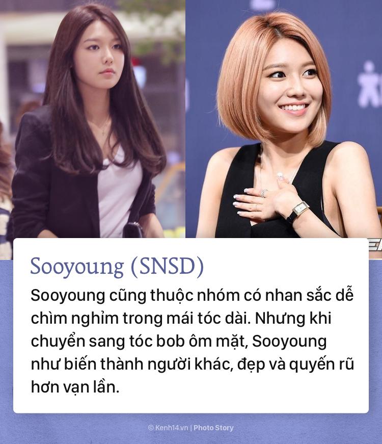 Những sao Hàn Quốc lên đời nhan sắc vì... cắt tóc ngắn - Ảnh 5.
