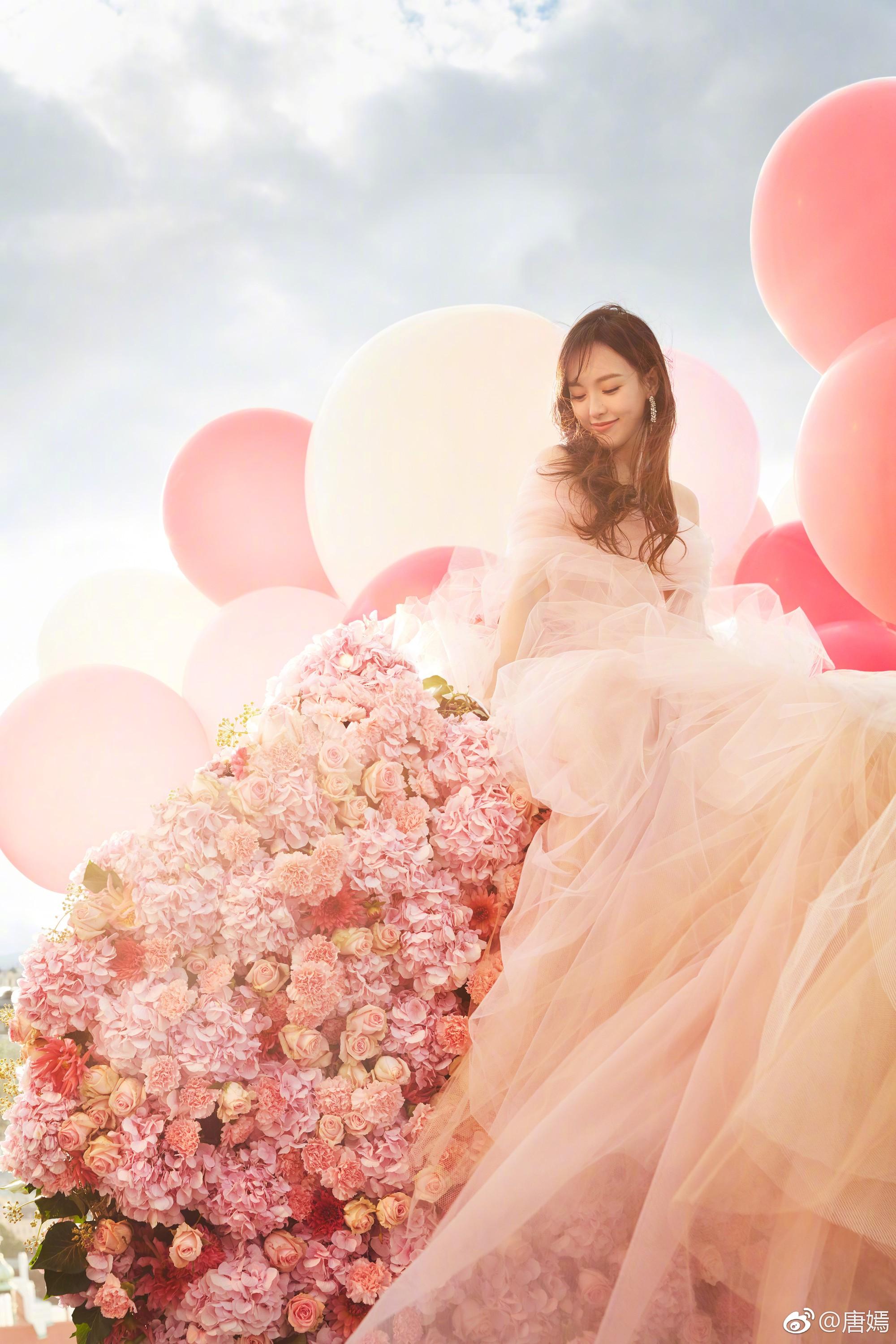HOT: Sát giờ G, Đường Yên tung ảnh cưới đẹp như mơ, tuyên bố chính thức trở thành cô dâu của La Tấn - Ảnh 4.