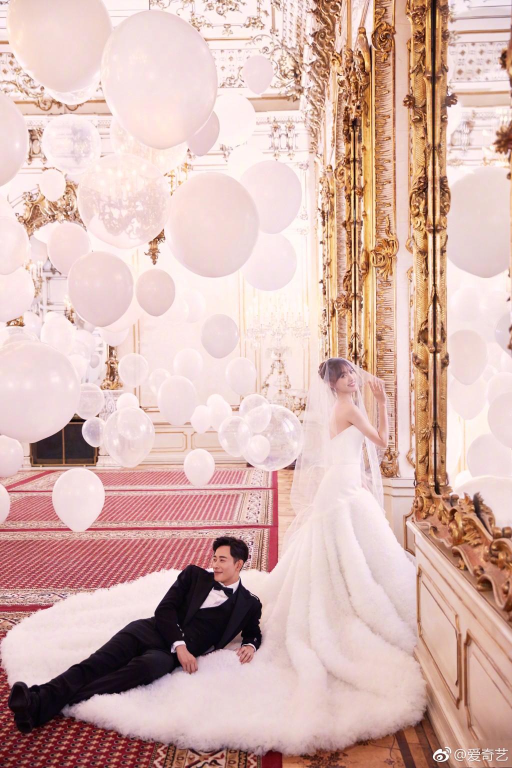 HOT: Sát giờ G, Đường Yên tung ảnh cưới đẹp như mơ, tuyên bố chính thức trở thành cô dâu của La Tấn - Ảnh 8.