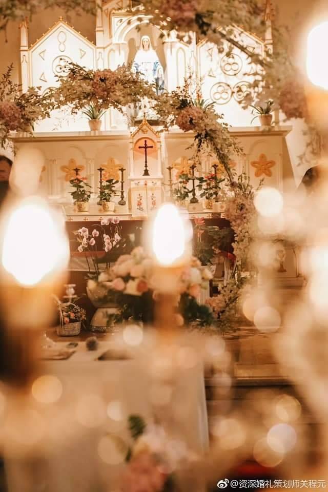 Đám cưới Đường Yên - La Tấn: Cô dâu xúc động ngỏ lời: Anh chính là người mà em tìm kiếm - Ảnh 16.