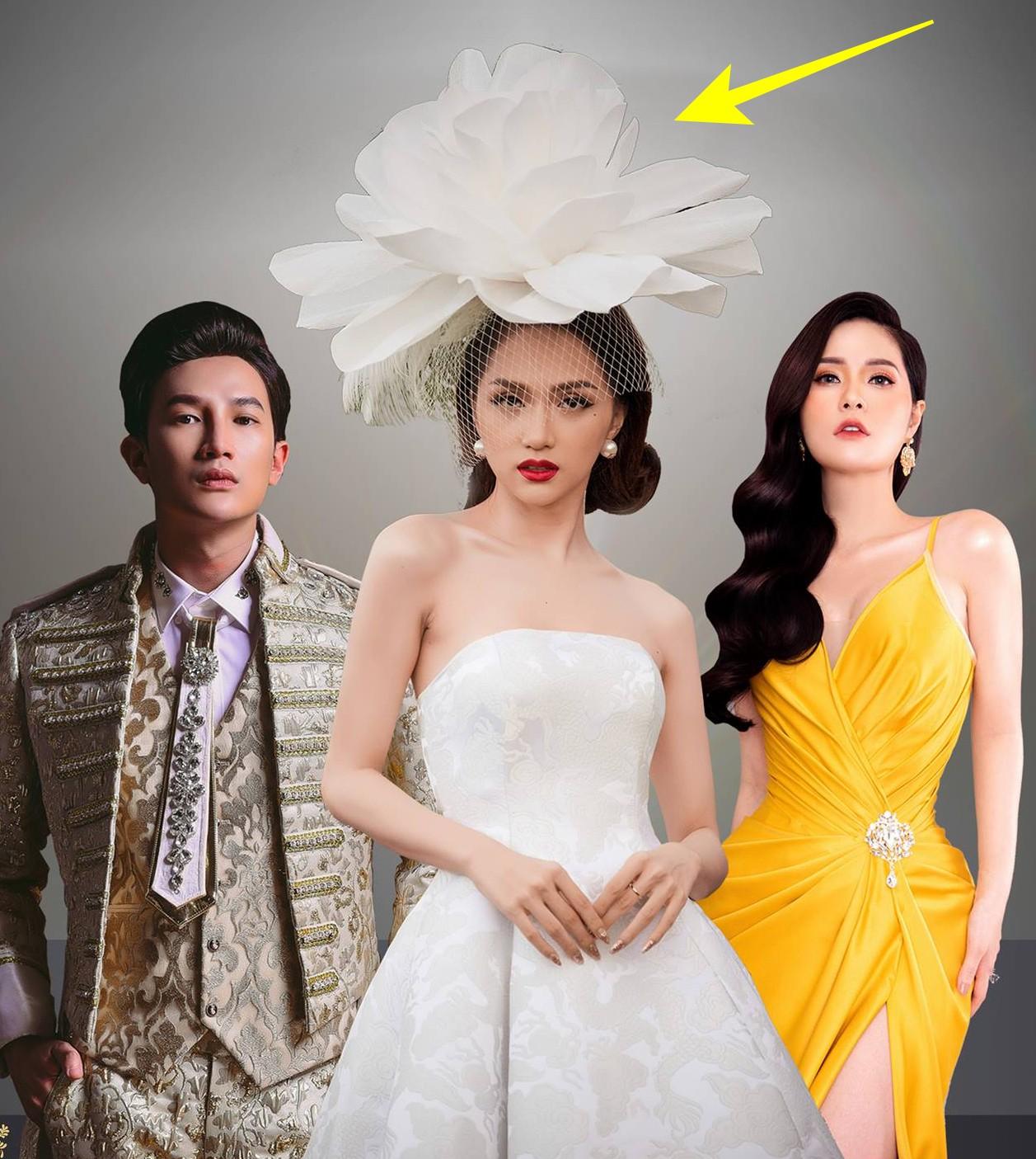 Hương Giang đội hoa như bà hoàng trên poster The Tiffanys Vietnam nhưng người ta lại thấy lỗi photoshop to đùng - Ảnh 1.