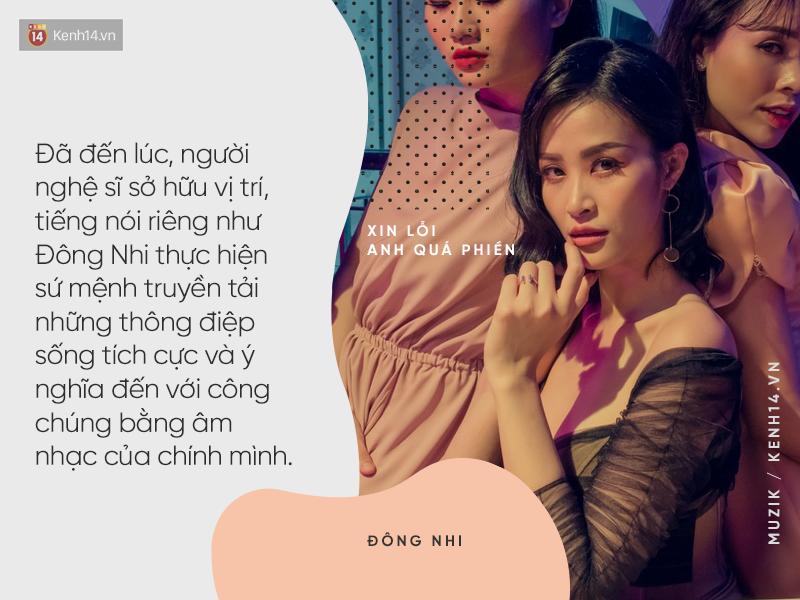 Đông Nhi và MV Xin lỗi anh quá phiền: Phát súng mang thông điệp nữ quyền ấn tượng mở màn cho album 10 năm - Ảnh 7.