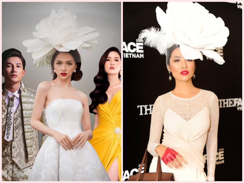 Hương Giang đội hoa như bà hoàng trên poster The Tiffanys Vietnam nhưng người ta lại thấy lỗi photoshop to đùng - Ảnh 3.