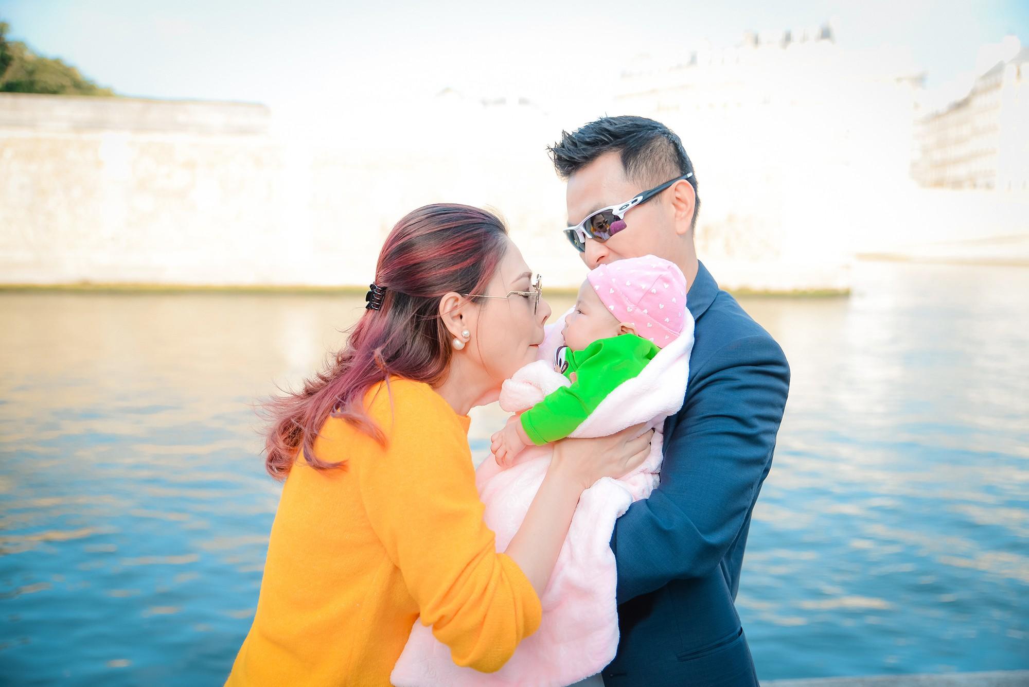 Thanh Thảo và ông xã đưa con gái chỉ mới 3 tháng tuổi đi du lịch châu Âu - Ảnh 11.