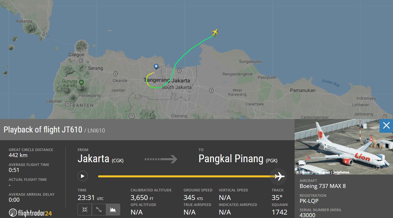 Máy bay gặp nạn ở Indonesia đã bị trục trặc kỹ thuật trong chuyến bay trước đó - Ảnh 1.