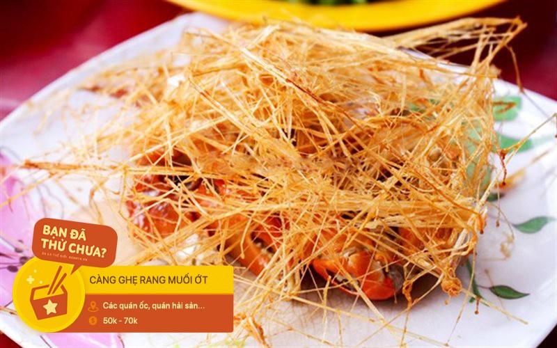 Không chỉ là một loại đồ chấm, muối ớt còn khiến người ta hít hà với hàng loạt món ăn đặc sắc ở Sài Gòn - Ảnh 8.