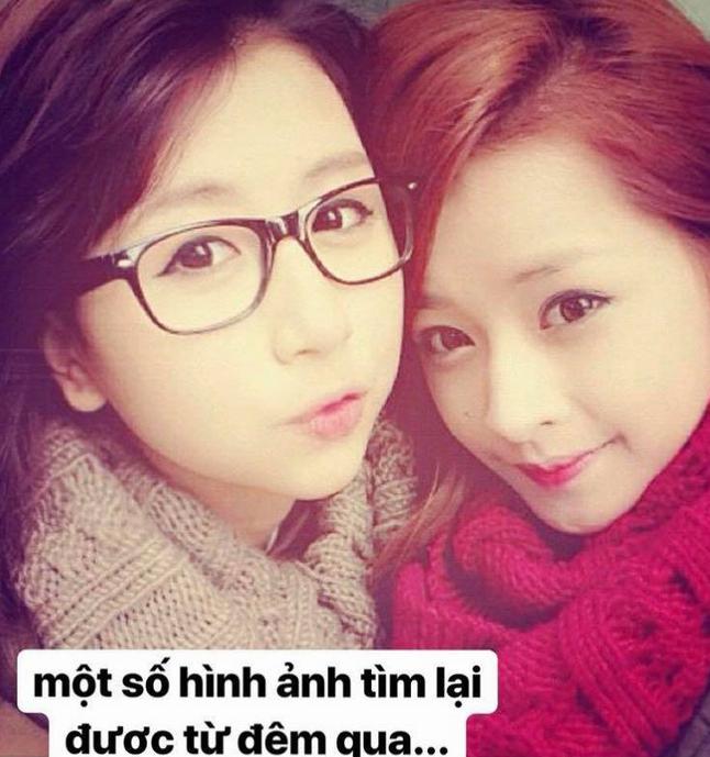 6 năm trước, Quỳnh Anh Shyn và Chi Pu từng giống nhau như chị em sinh đôi - Ảnh 1.