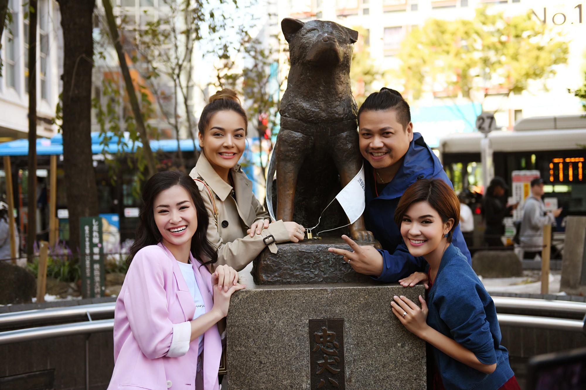 Đông Nhi hào hứng học làm sushi, cùng nghệ sĩ các nước ASEAN khám phá Nhật Bản - Ảnh 1.