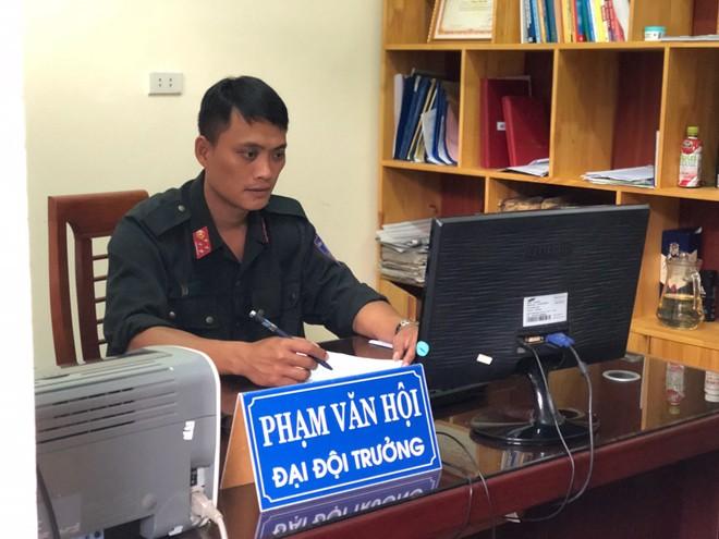 Cuộc trò chuyện cân não giữa Đại đội trưởng CSCĐ và đối tượng ôm lựu đạn cố thủ - Ảnh 1.