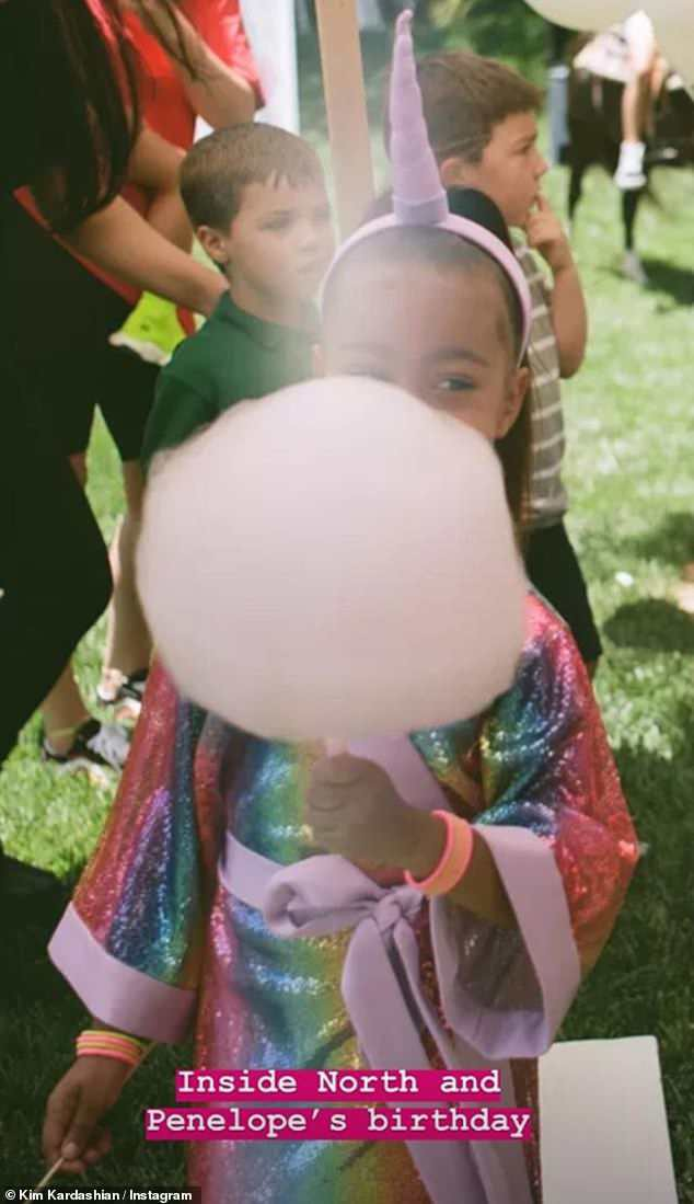 Dân tình trầm trồ vì tiệc sinh nhật 5 tuổi hoành tráng chuẩn rich kid của con gái Kim Kardashian - Ảnh 4.
