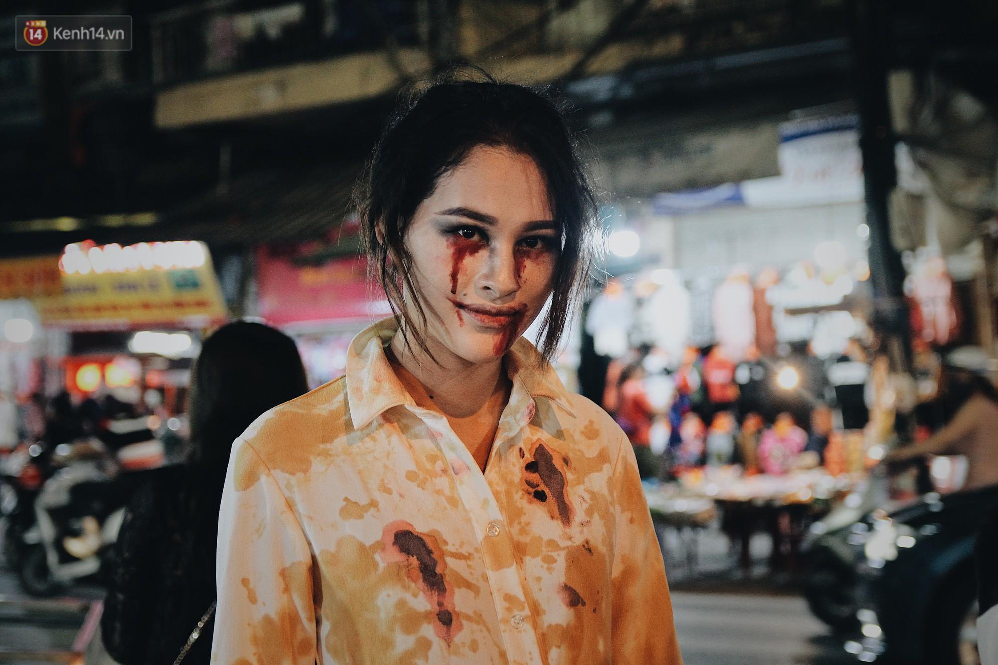 Hình ảnh Halloween tại phố Hàng Mã Hà Nội- Ảnh 7.