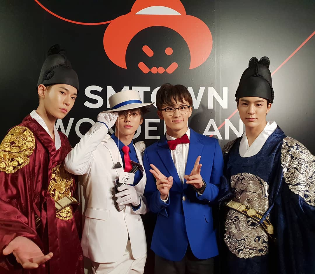 Tưng bừng tiệc Halloween khủng nhà SM: Taeyeon quá xuất sắc, nhưng Key và Baekhyun mới là sốc nhất - Ảnh 15.