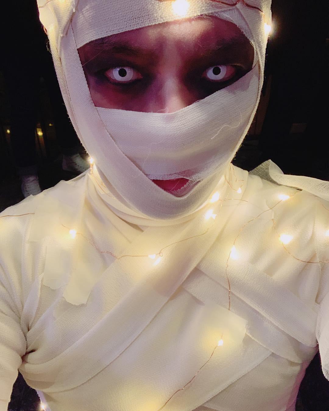 Tưng bừng tiệc Halloween khủng nhà SM: Taeyeon quá xuất sắc, nhưng Key và Baekhyun mới là sốc nhất - Ảnh 5.