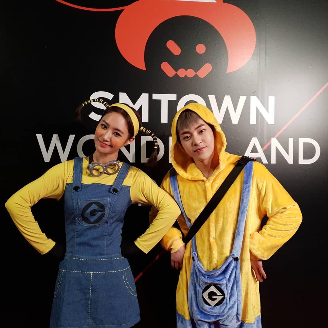 Tưng bừng tiệc Halloween khủng nhà SM: Taeyeon quá xuất sắc, nhưng Key và Baekhyun mới là sốc nhất - Ảnh 6.