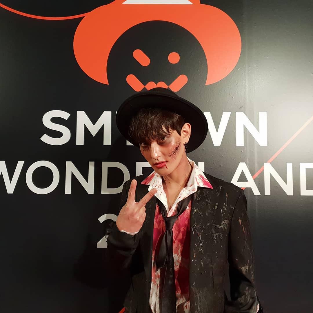 Tưng bừng tiệc Halloween khủng nhà SM: Taeyeon quá xuất sắc, nhưng Key và Baekhyun mới là sốc nhất - Ảnh 10.