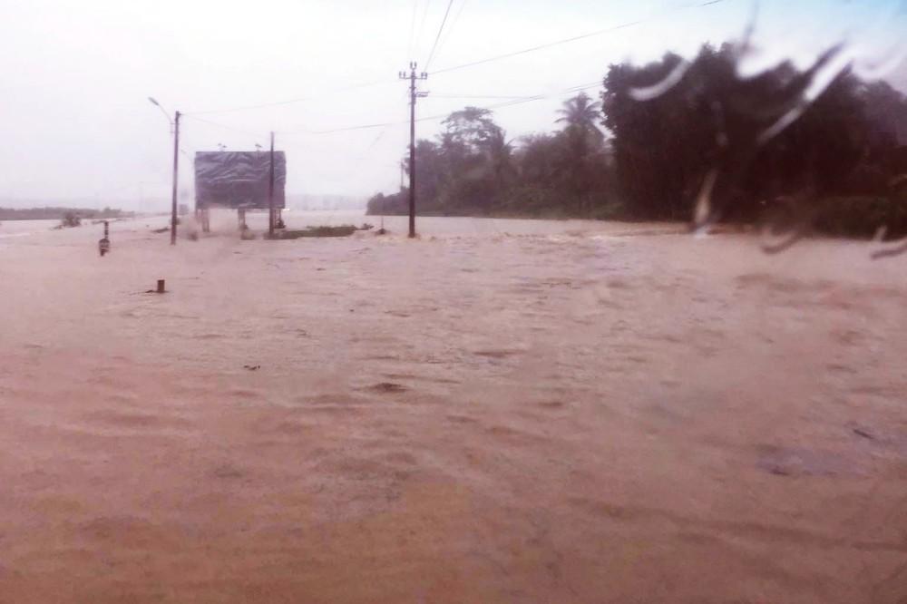 Bình Định: Mưa lớn 2 ngày liên tục khiến nước lũ lên nhanh, nhiều nhà dân bị cô lập - Ảnh 5.